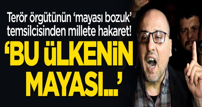 HDP'li Ahmet Şık'tan skandal açıklama: Bu ülkenin mayası...