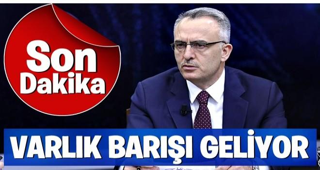 Maliye Bakanı Ağbal: Varlık Barışı'na ilişkin düzenleme getiriyoruz