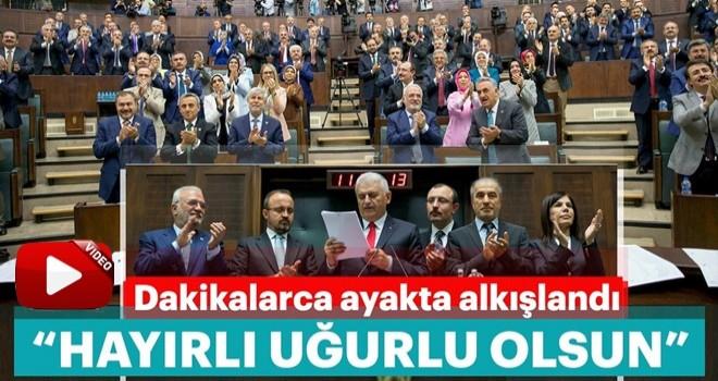 Başbakan Binali Yıldırım: Adayımız milletin adamı Erdoğan'dır!