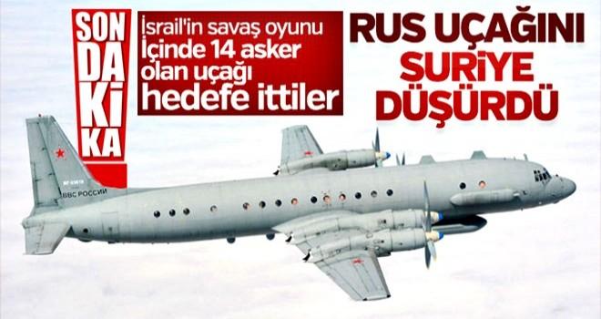 Rusya: Uçağımızı Suriye düşürdü