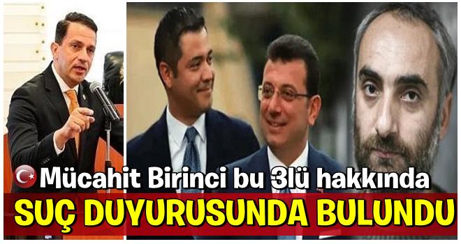Ekrem , Murat  ve İsmail  hakkında suç duyurusu...