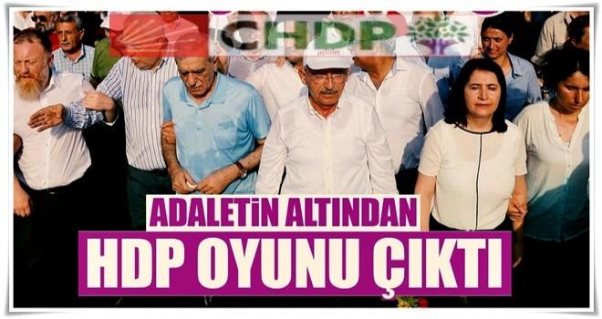 CHP'nin adaletinden HDP ile ittifak çıktı