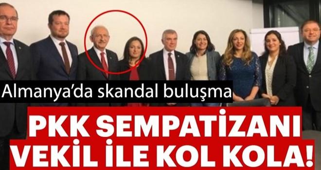 Kılıçdaroğlu'nun Almanya günlüğü! Önce Türkiye'yi şikayet etti sonra PKK'lı vekille görüştü