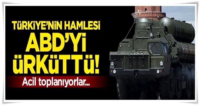 Türkiye'nin hamlesi ABD'yi tedirgin etti! Acil çağrı ile toplanıyorlar