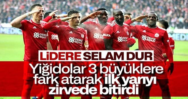 Sivasspor tek golle 3 puanı aldı