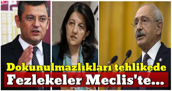 Kılıçdaroğlu ve Buldan'ın dokunulmazlığı tehlikede!