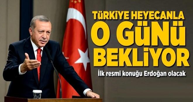 Cumhurbaşkanı Erdoğan yeni havalimanının ilk resmi konuğu olacak .