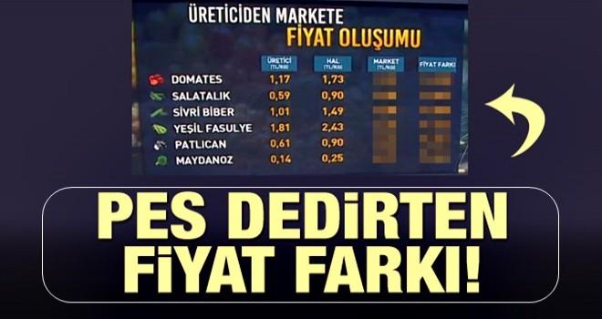 Pes dedirten fiyat farkı! Hal yasası şart