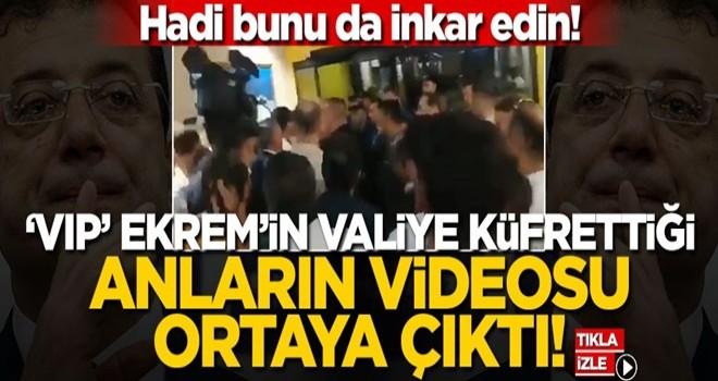 Hadi bunu da inkar edin! 'VIP' Ekrem'in valiye küfrettiği anların videosu ortaya çıktı!