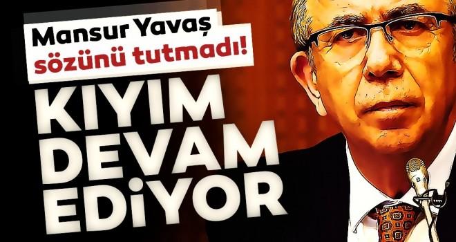 Ankara Büyükşehir Belediyesi eski Genel Sekreteri Tuzcuoğlu: