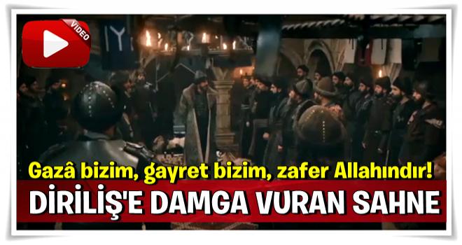 Diriliş Ertuğrul'a damga vuran sahne: Gazâ bizim, gayret bizim, zafer Allahındır!'