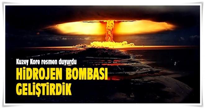 Kuzey Kore resmen duyurdu: Hidrojen bombası geliştirdik