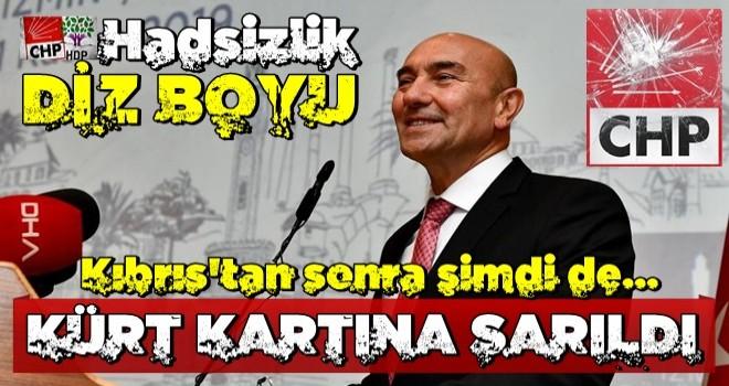 Tunç Soyer 'Kıbrıs'tan sonra şimdi de 'Kürt' kartına sarıldı!