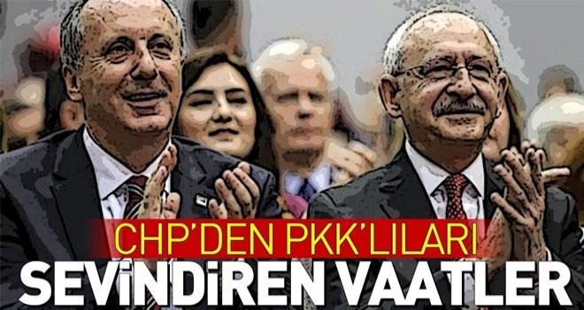 CHP'den PKK'lıları sevindiren vaatler .