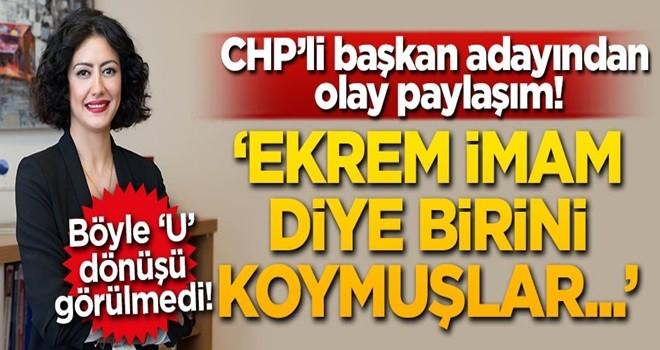 CHP'nin Beşiktaş adayından olay Ekrem İmamoğlu paylaşımı 'İmam diye birini...'