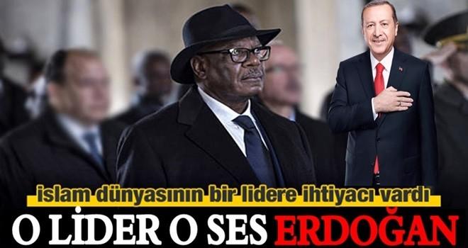 'İslam dünyası lider bekliyordu, o lider Erdoğan!'