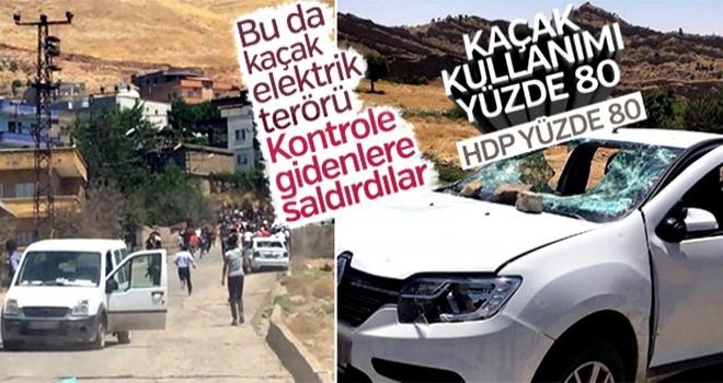 Şırnak'ta kaçak elektrik gerilimi