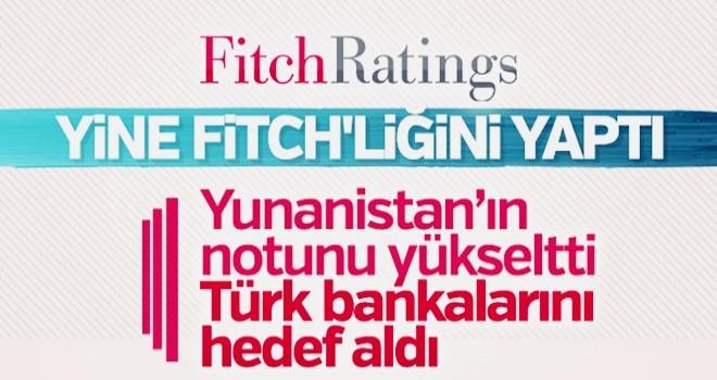 Fitch 20 bankanın notunu düşürdü