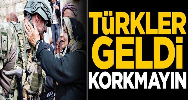 Türkler geldi, korkmayın