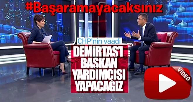 CHP'li Özgür Özel'den Selahattin Demirtaş itirafı