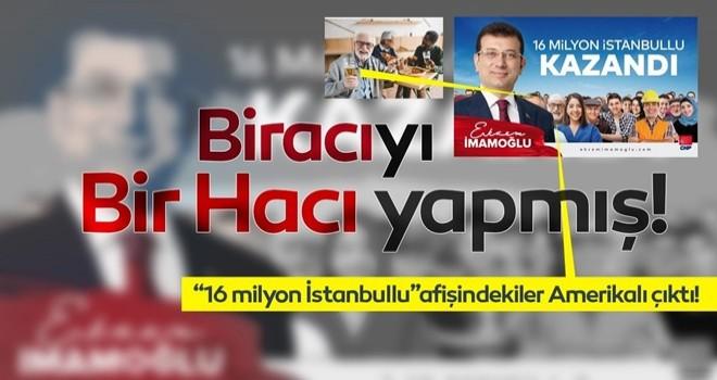 Ekrem İmamoğlu'nun posterindeki