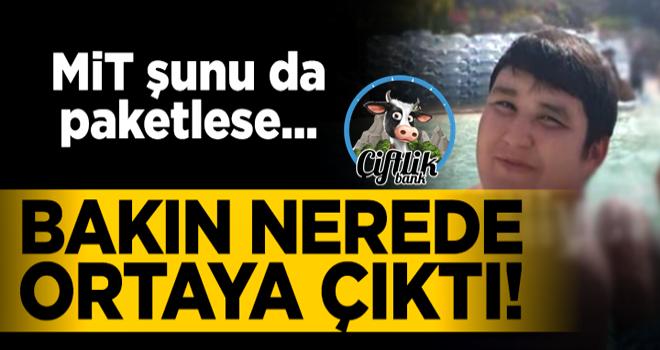 Dolandırıcı Mehmet Aydın ortaya çıktı...Keyfi yerinde!