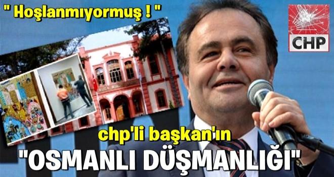 CHP'li Bilecik Belediye Başkanının 'Osmanlı' düşmanlığı! İptal ettirdi