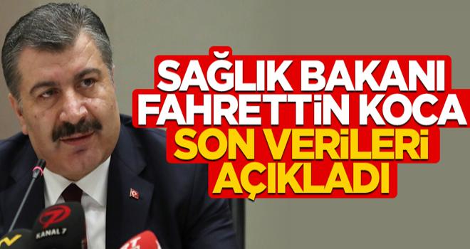 Bakan Koca, Türkiye'deki son corona virüsü vaka sayısını açıkladı (04.04.2020)