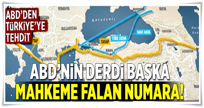 ABD, Türkiye'yi Türk Akımı'yla tehdit etti  .