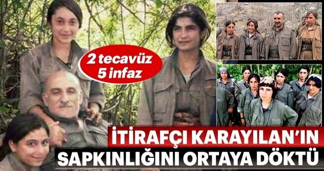 Kandil'de 2 tecavüz 5 infaz! Murat Karayılan'ın sapık ilişkileri