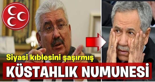 MHP'den Arınç'a zehir zemberek sözler...