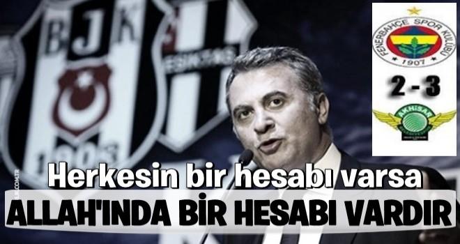 Fenerbahçe'ye gönderme!
