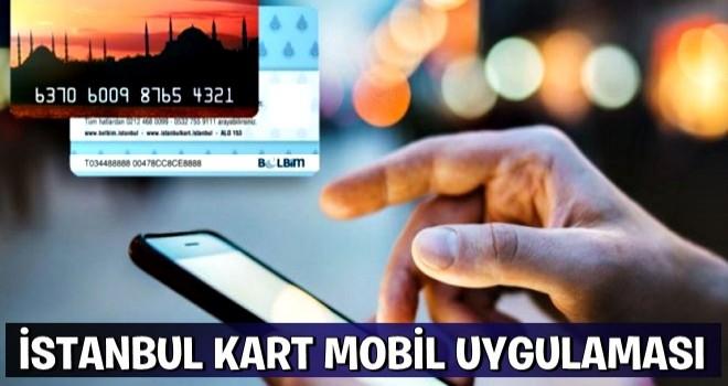 İstanbulkart Mobil – Telefon Uygulaması