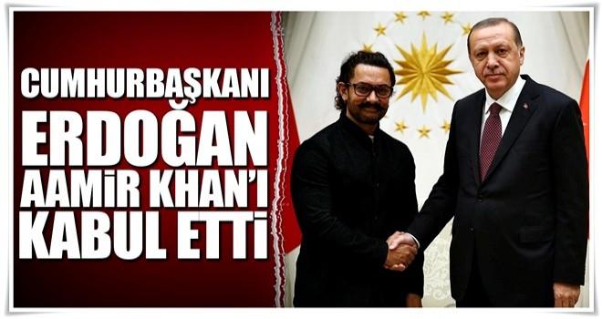 Cumhurbaşkanı Erdoğan Aamir Khan'ı kabul etti