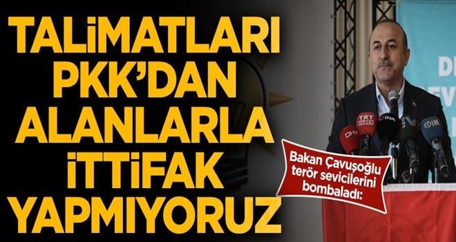 Dışişleri Bakanı Çavuşoğlu sert konuştu!