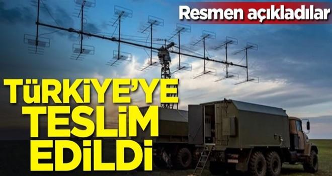 Dünyaya duyurdular! Türkiye'ye teslim edildi