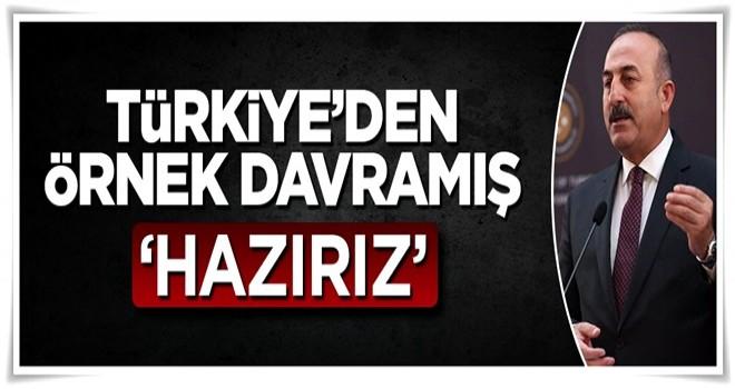 Mevlüt Çavuşoğlu: Depremzedeler için hazırız