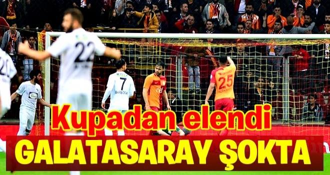 Galatasaray Ziraat Türkiye Kupası'na veda etti