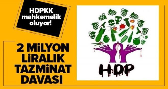 HDP mahkemelik oluyor! Kızı dağa kaçırılan baba Mehmet Laçin'den 2 milyon liralık tazminat davası .