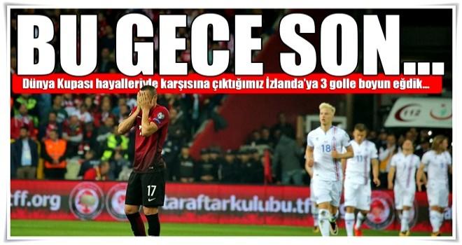 Türkiye için 'bu gece son'!
