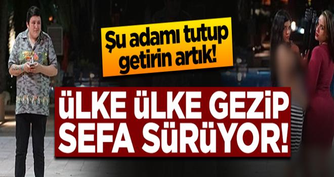 Mehmet Aydın ülke ülke sefa sürüyor!