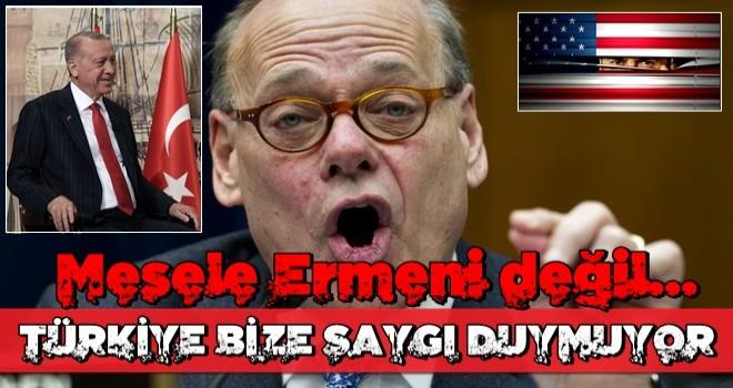 Senatör itiraf etti: Mesele 'Ermeni' değil