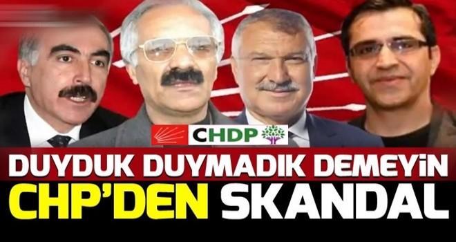 HDP ve PKK çizgisindeki birçok isim CHP'den aday oldu.