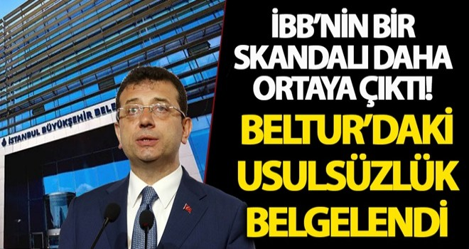 İBB peşkeş çekti! SGK, Beltur'daki usulsüzlüğü belgeledi