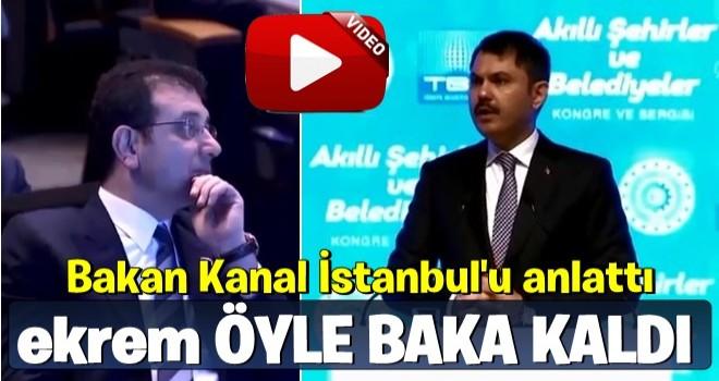 İ.oğlu, Murat Kurum'un Kanal İstanbul çıkışı sonrası donup kaldı
