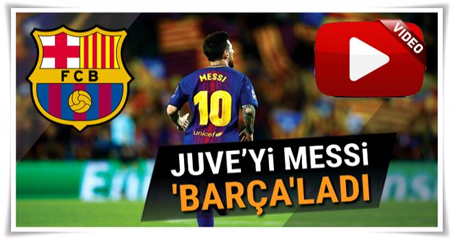 Barcelona 3-0 Juventus geniş özeti