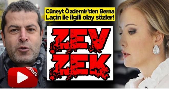 Cüneyt Özdemir'den Berna Laçin ile ilgili olay sözler! 'Dört dörtlük tepki'
