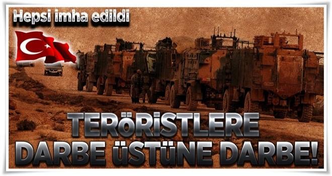 Teröristleri tarumar eden operasyon! .
