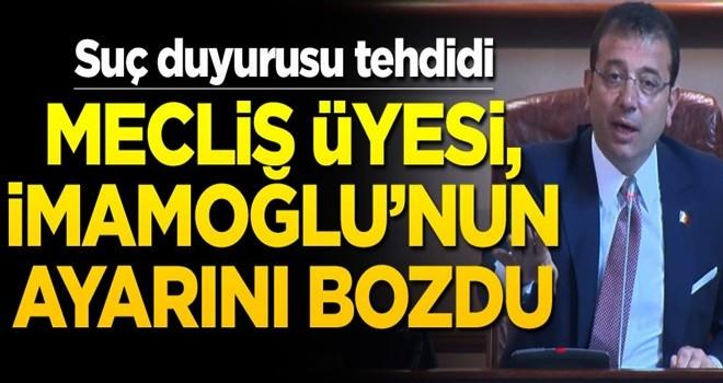 AK Partili isim, İmamoğlu'nun ayarını bozdu!