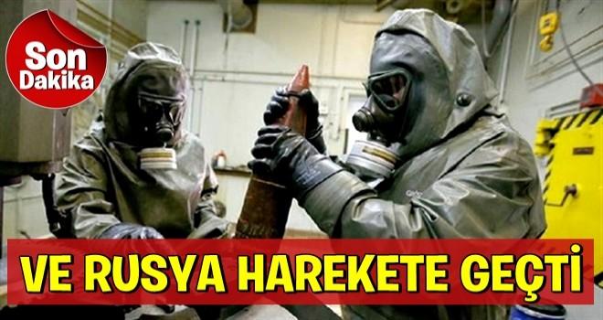 Rusya, Doğu Guta'da kimyasal silah incelemelerine başladı